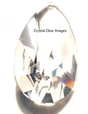100mm Clear Teardrop Crystal Prisms Wholesale Feng Shui  30% Leaded CCI