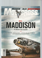 TRANSWORLD MOTOCROSS MAGAZINE MARCH 2013 WITH FREE POSTER INSIDE
