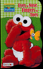Board Book - Sesame Street - NEW - Eyes & Nose, Fingers & Toes -