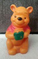 "Vintage Winnie The POOH~~7"" Vinyl Toy Figure~Sears Roebuck & Co-1960's~1970's"