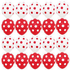 10X Red 10X White Polka dots Balloon Minnie mouse girl Birthday Party Decoration