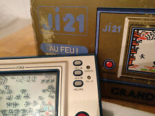 Ultra rare!! *JI21*FRENCH CONSOLE* !! FIRE!! NINTENDO 1981 GAME AND WATCH