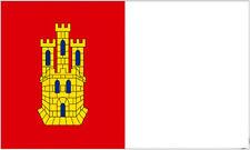 CASTILLA LA MANCHA FLAG 5' x 3' Spain Regional Region Spanish Castile