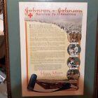 Внешний вид - Ladies Home Journal December 1917 World War 1 Johnson & Johnson Framed Advert