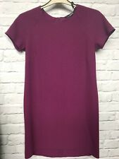 Atmospere womens plum Purple  A-Line Dress label size UK 10