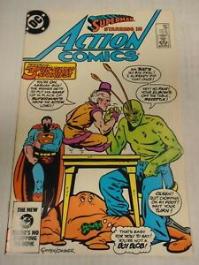 DC ACTION COMICS #563 (1985) Ambush Bug, Mr. Mxyzptlk, Jimmy Olsen, Keith Giffen