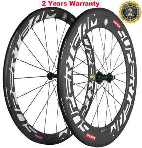700C Carbon Wheelset Front 50mm Rear 88mm 25mm U Shape Carbon Wheels Bicycle 3K