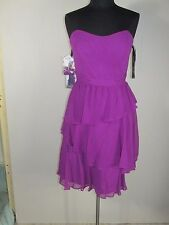 Alfred Angelo-7321-Size 10-Violet- Bridesmaid,Cruise,Pagent-928-46