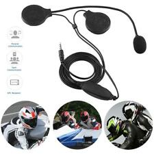 Motorcycle Helmet Headphone Earphone intercom Microphone For Mobile Phone da