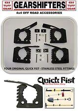 QUICK FIST CLAMP ORIGINAL FOUR SUITS 25 - 45MM DIA HOLDS SAFE 10KG 4X4 4WD TOOLS
