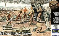 Masterbox - US Artillery Crew 6 Soldiers on Maneuver 1:3 5 Operation Kit
