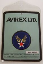 Vintage Avirex Tag w/ Patch, Repoduction, World War II Insignia - Set of 5