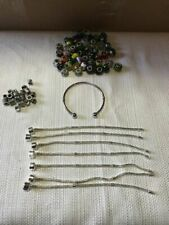 Lot of Charms and Beads for Bracelets + Bracelets + Other Fashion Jewelry