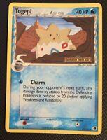 NM/M Togepi 41/101 Reverse HOLO EX Dragon Frontiers Delta Species Pokemon Card