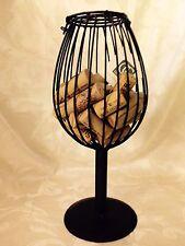 Wrought Iron Cork Saver-Wine Glass Shape