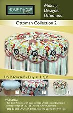 Home Decor 1-2-3 Making Designer Ottomans Collection 2