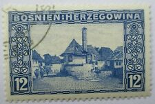 Bosnia and Herzegovina. Very fine used 1912 pictorial set.