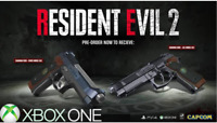 Resident Evil 2 Samurai Edge Chris & Jill, Xbox One Exclusive Preorder DLC