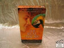 The Real Macaw (VHS, 2000, Slipsleeve) John Goodman Jason Robards Jamie Croft