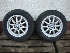 2 x Alufelgen BMW E36 Kompletträder Winter 1182608-2 7J x 15 Zoll ET47