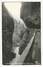 RPPC, LOOKING OUT FROM BOX CANON, Ouray, Colorado, ca1950s(?)