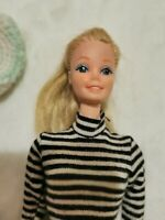 Vintage Barbie Blonde Doll with Dress Lot 1958 Made In the Philippines