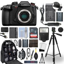 Panasonic Lumix DMC-GH5S 10.28 MP 4K Digital Camera Body + 64GB Deluxe Bundle
