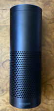 Amazon Echo w/Alexa Bluetooth Smart Speaker 1st Gen Black No AC Adapter