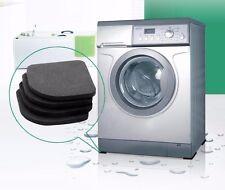 4pc Washing Machine Shock Mute Pads Refrigerator Non-slip Anti Vibration Mat~