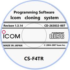 Icom Cs-F4Tr Revision 1.3.14 Programming Software for Ic-F4Tr Radio