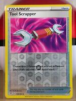 Tool Scrapper  168/192 S&S: Rebel Clash  Reverse Holo  Mint/NM Pokemon