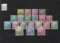 germany 1954 - 60 used  stamps ref 13302