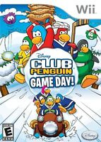 Club Penguin: Game Day! For Wii And Wii U Disney Very Good 9E