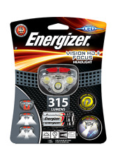 Energizer Vision HD + Focus Headlight 315Lumens inc 3 x AAA Energizer Batteries