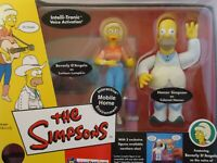 The Simpsons Lurleen Lumpkin & Colonel Homer Intelli -Tronic Figures Free S&H