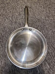 """WOLFGANG PUCK 10"""" Inch Omelette Fry Pan  18-10 Stainless Steel"""