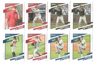2021 Donruss Baseball Complete Master Set (300) All SP Variations Rookies Tatis!