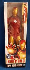"""IRON MAN 3 - IRON MAN - CLASSIC SERIES 12"""" ACTION FIGURE IN SEALED BOX BY HASBRO"""