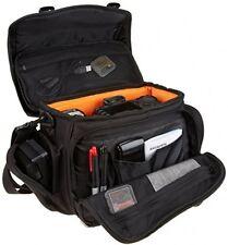 Amazon Basics fotocamera DSLR e borsa tracolla gadget (grande con interno arancione)