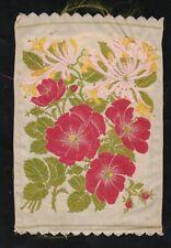 More details for wix tobacco kensitas loose silk flower postcard honeysuckle - rambler rose