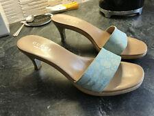 Gucci Sandals Canvas Heels for Women