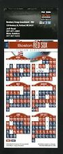 Boston Red Sox--2015 Hang-it Style Magnet Schedule