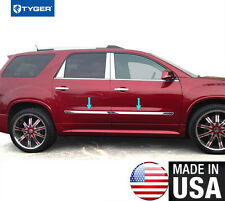 "TYGER For 2007-2016 GMC Acadia 1.5"" Body Side Molding Trim 4PC - remove logo"