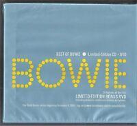 Best of Bowie [Bonus DVD] [Limited] by David Bowie (CD,2003, 2 Discs, Virgin)NEW
