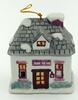 Dickens Village Bell Lites Porcelain Holiday Christmas Ornament Rooms For Hire