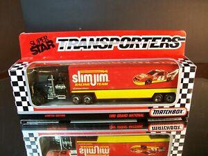Bobby Labonte #44 Slim Jim 1992 1:87 Racing Team Transporter Matchbox