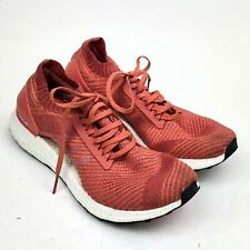 838c7873a6bb7 Womens Running Shoes Adidas Ultra BOOST X Trace Scarlet Coral Red Size 10.5