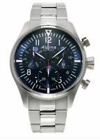 Alpina Startimer Pilot Men's Quartz Caliber Chronograph 42mm Watch AL-371NN4S6B