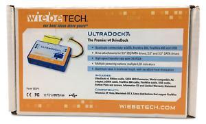 [NEW] Wiebetech UltraDock v4 Professional Hard Drive Dock Module Unit (SEALED)