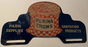 Super Purina Chows License Plate Topper Attachment